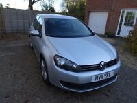 Volkswagen Golf 1.4L Twist 5dr Petrol Manual Silver - 97k miles with fitted bluetooth and new tyres