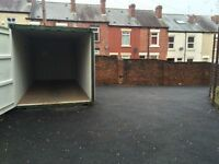 Storage land and 20 foot Self Storage container to rent