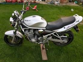 Suzuki bandit gsf600s 2003