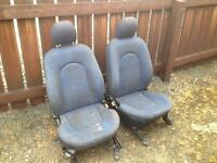 Ford ka sport front and rear seats