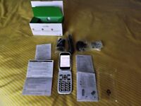 """DORO"" 6520 FlipFold 3g Big Button Mobile Phone - Brand NEW in box"