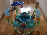 Jumperoo Disney baby finding nemo sea of activities baby jumper