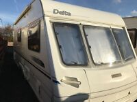 Lunar delta/520/2 berth 2002 twin axal full awning