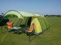 GREAT 6 man Vango tent
