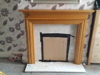 Fire surround for sale with marble