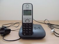 Gigaset A400A Single Digital Cordless Phone with built in answering machine