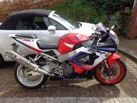 Honda CBR 900 rry 2000 27k red/blue