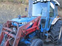 Ford 5610 with Loader