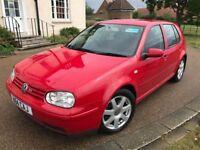 2000 VW GOLF 2.8 V6 4Motion *FSH, HPI Clear, Good Runner Manual Petrol Red