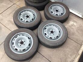 Vw 5x100 steels with good tyres