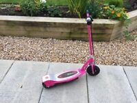 Razor E100 Electric Scooter **PINK**