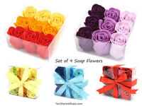 Set of 9 Soap Flowers
