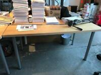 Office desks x 4