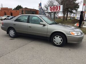 2000 Toyota Camry SHIPPERS SPECIAL,288KM,$1688,AUTO,4CYLENDER