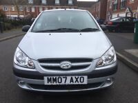 2007 Hyundai Getz 1.1 Manual, Service History, 1 Former Keeper. HPI Clear, Drives Excellently