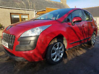 2011 Peugeot 3008 Active 1.6 HDI,Year MOT,New Timing Belt,60 MPG,Serviced