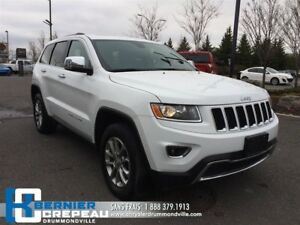 2016 Jeep Grand Cherokee Limited **TOIT + CAMERA + ENS. CHAUFFAN