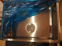 Large deep kitchen sink/new