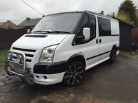 Ford transit sport st rep but with a couple nice things added I'd say