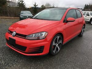 2015 Volkswagen Golf GTI (with Panoramic Sunroof)