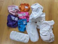 Little lamb washable nappies stash size 1