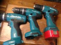 3 makita drills