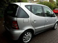 2004 private reg MERCEDES A160 CDI ELEGANCE DIESEL ONLY 46000 MILES FSH ALL EXTRAS MOT 1 YEAR