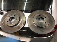 Ford Mondeo mk3 front discs x 2 (150 miles old)