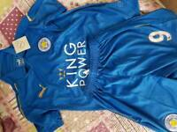 5-7 Yrs Kids Vardy Leicester Jersey and Shorts