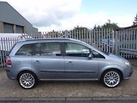 2005 Vauxhall Zafira Turbo SRi 5dr MPV★★★7 SEATS★★★FULL LEATHER★★★TURBO★★★200 BHP★★★