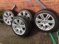 """Genuine 17"""" BMW M Sport Alloys e90 e91 e92 e82 e46 e60 1 3 5 Series"""