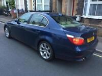 BMW 530D SE AUTO DIESEL BLUE **FULL CREAM LEATHER/AUX/MOT TILL AUG2018