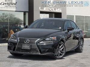 2015 Lexus IS 250 ** F Sport 3 ** Top Package **