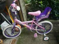Girls bike, 14inch
