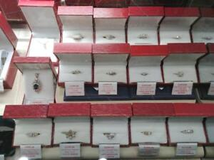 Our Estate Jewellery is 60% OFF Retail - Large Selection of Diamond Rings, Pendants, Chains etc..