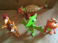 Dinosaur train talking figures