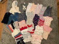 9-12 month girls bundle of clothes