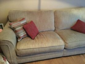3 seater sofa & chair. Excellant condition.