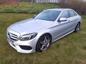 Mercedes-Benz C Class 2.1 C220 CDI BlueTEC AMG Line Saloon 7G-Tronic Plus 4dr (start/stop)