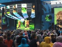 X4 Ed Sheeran Tickets Wembley Sunday 17th June