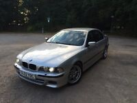 BMW e39 530d M-Sport, 2002, 119,000 miles, well cared for & un-modified, 12 months MOT, new tyres