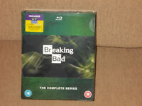Breaking Bad The Complete Series on Blu Ray