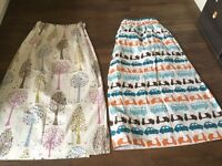 2 pairs of John Lewis children's blackout curtains for sale