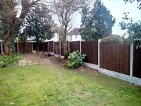 Fence Supply and Fitting. Close Board Fence Panel, Turf, Decking, Patio and Slabs.