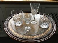 Edingburgh crystal glasses