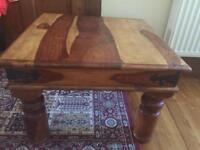 Sheesham coffee table - solid wood