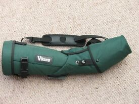 Viking AW-80 Spotting Scope + 20 - 60x Zoom + Stay-On Case