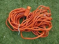 LAWNMOWER / STRIMMER ETC. 20 METRE HEAVY DUTY CABLE ONLY £5