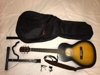 Fender Parlour C100 w/ Accessories