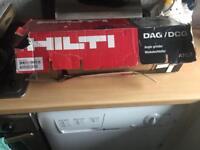 """110volt Hilti 9""""grinder and cutting discs"""